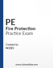 NCEES PE Fire Protection Books