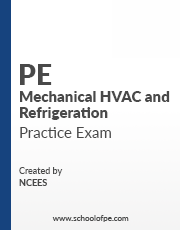 NCEES PE Mechanical HVAC and Refrigeration Books