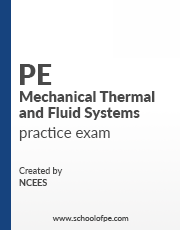 NCEES PE Mechanical Thermal and Fluid Systems Books