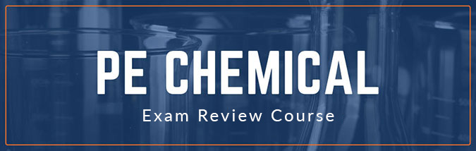 School of PE offers PE Chemical exam prep courses to prepare students for the NCEES PE Chemical professional engineering licensure exam. Prep courses include PE exam chemical engineering practice.