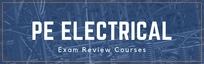 School of PE offers exam review courses to prepare students for the NCEES PE Electrical engineering exam. School of PE offers review courses for both the PE Electrical power exam and the PE Electrical and Computer Electronics, Controls, and Communications exam.